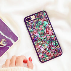 Hipster Colorful Marble iPhone Case