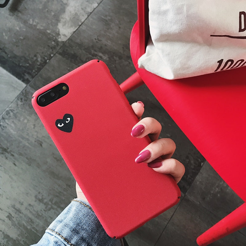 Love Comme des Garcons iPhone Case