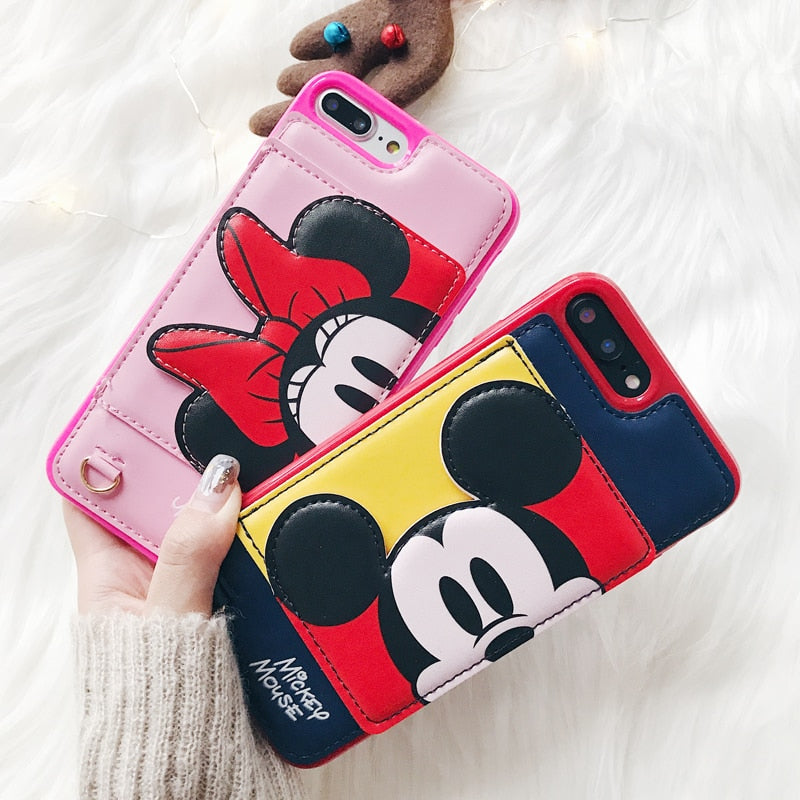 Cartoon Characters Pocket iPhone Case