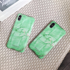 Green Jade Marble iPhone Case