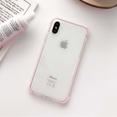 Glitter Anti-Knock Transparent iPhone Case