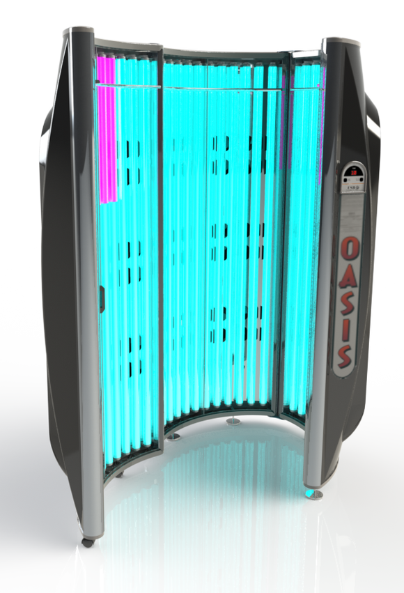 Oasis 36 Stand-Up Home Tanning Booth