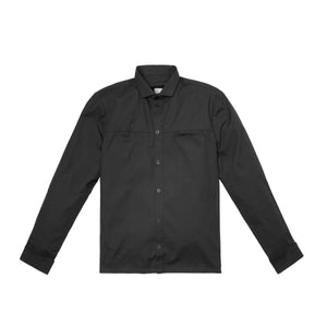 Homefront Button Down Black
