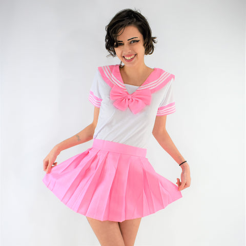 Sailor Girl Play Clothes - Pink