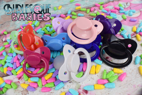 Adult Pacifier- select your color