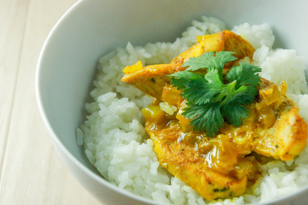 Chicken Curry with Jasmine Rice