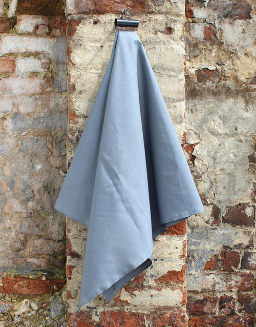 Plain Cotton Poplin Fabric, Grey