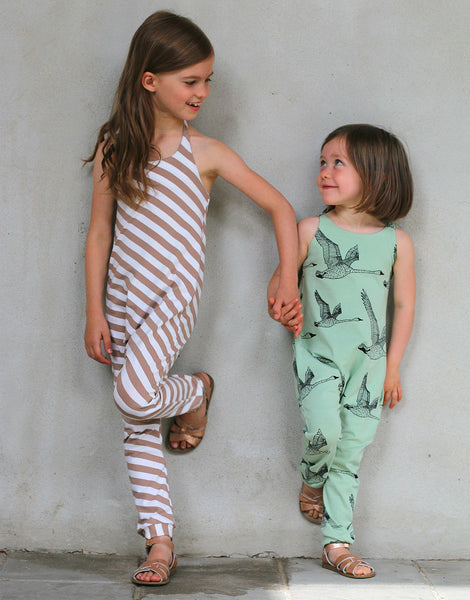 Hoppe Jumpsuit, Straightgrain Girl's Sewing Pattern