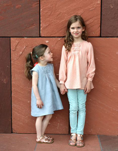 Nova Dress & Blouse, Straightgrain Girl's Sewing Pattern