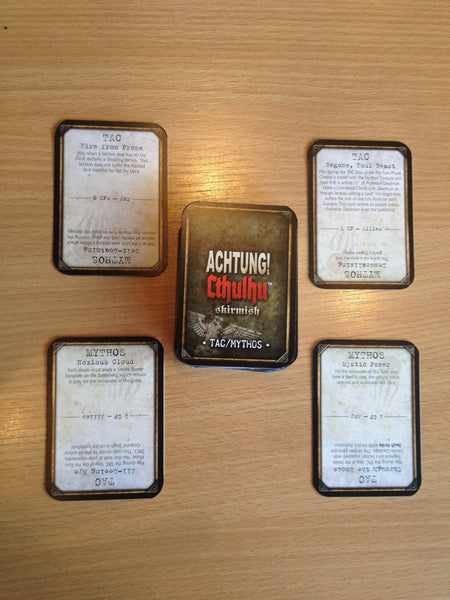 Achtung! Cthulhu Skirmish - Card Deck