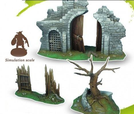 Drakerys: Scenery Set A