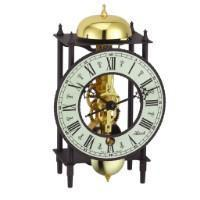 Modern Design Mantel Clocks - Hermle BONN Mechanical Skeleton Table Clock 23001000711, Brass