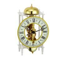 Modern Design Mantel Clocks - Hermle MAINZ Mechanical Skeleton Mantel Clock 23005000711, Brass