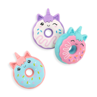 Magic Bakery Unicorn Donut Scented Erasers in a group