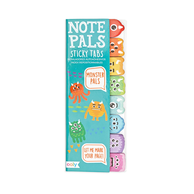 Note Pals Sticky Tabs - Monster Pals