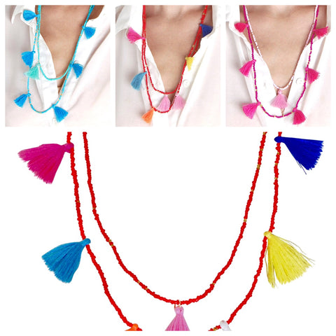 Tassel Necklaces - 3 variations