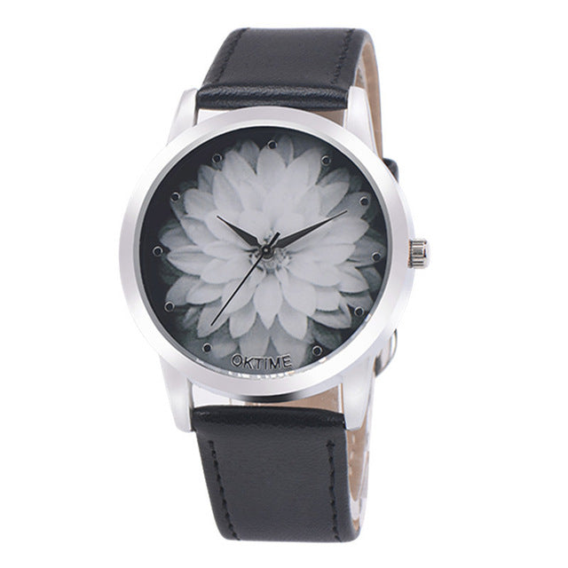 Fashion Flower Printed Watches