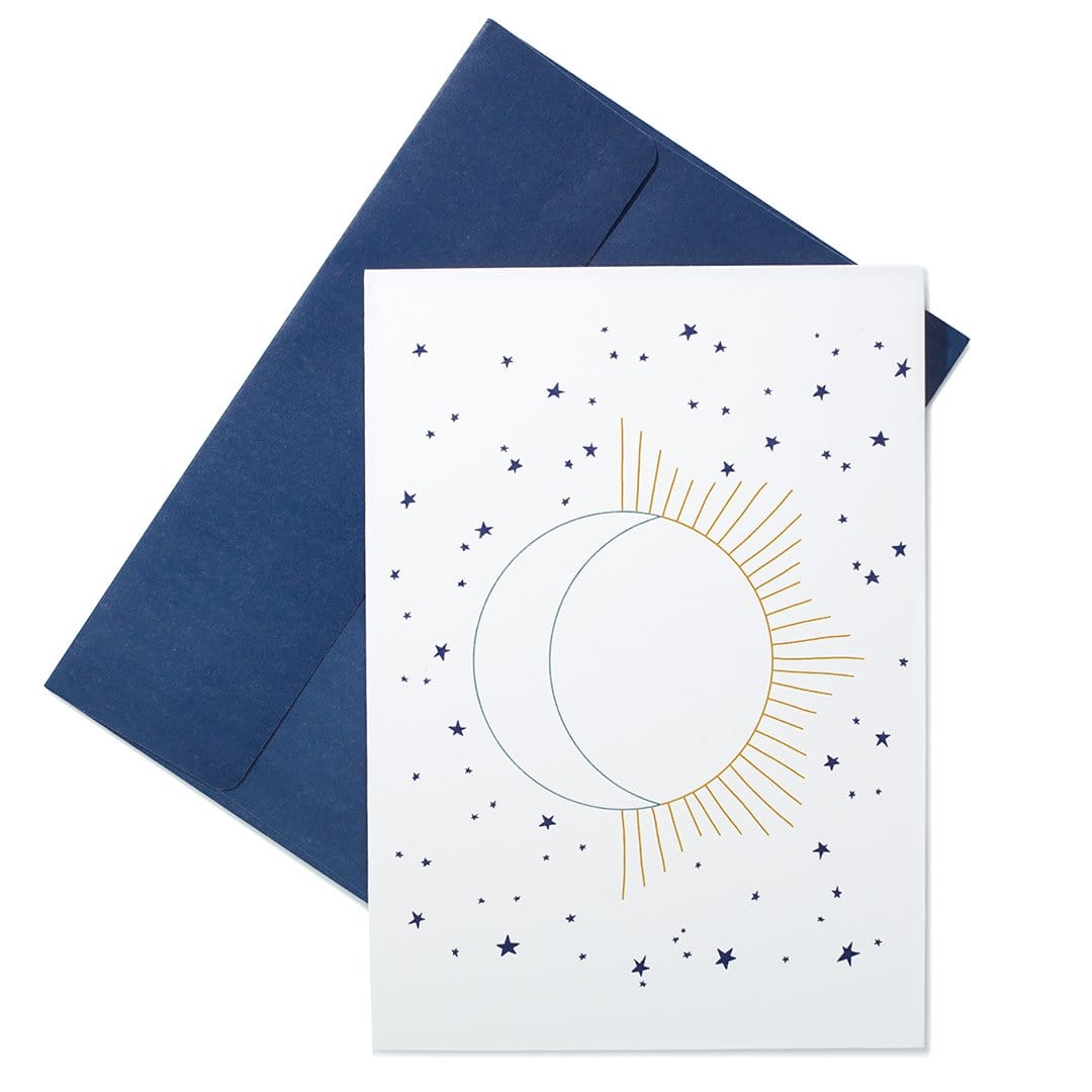 "Moon Message - ""You are my sun, my moon, and all my stars."""