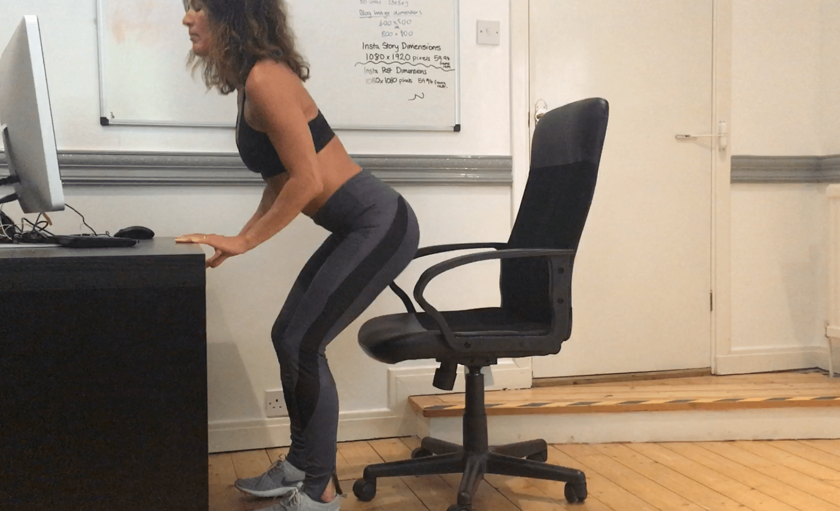 11 exercises you can do at your desk