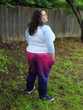 Pixel Pride Twilight Jogger Pants with Pockets - Bi / Bisexual Pride