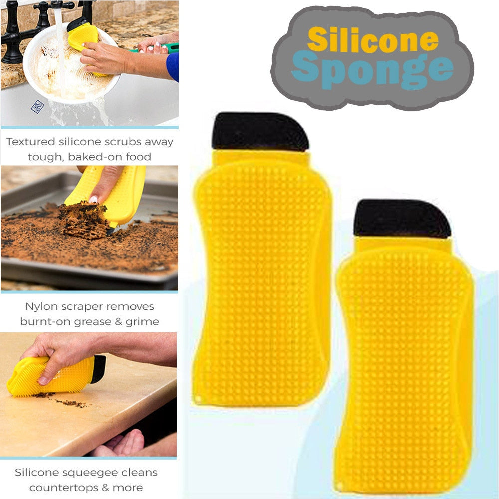 Wonder Scrubber™ - 3-in-1 Magic Sponge