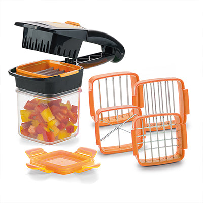 Quick Chop™- 5-in-1 Vegetable Cutter Set