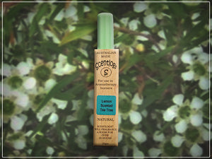 Pure Australian Lemon Scented Tea Tree Scentlogs - purifying and stimulating