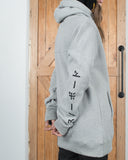J-Pan Hoodie Heather Grey - Yuki Threads