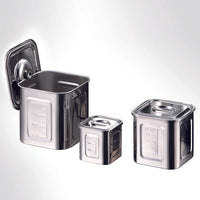 Stainless Kitchen Pot Square 12cm