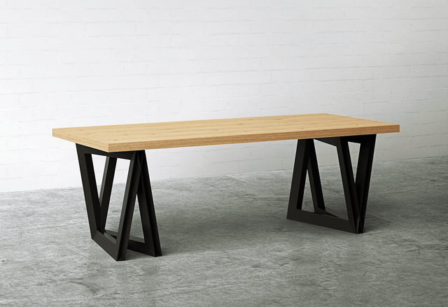 <span>MODERN DELTA </span>DINING TABLE (SOUND TABLE)