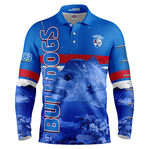 AFL Bulldogs Fishing Shirt