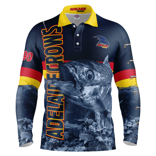 AFL Adelaide Crows Fishing Shirt