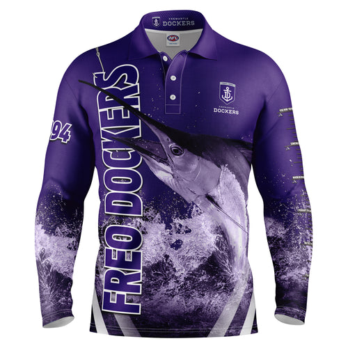 AFL Fremantle Fishing Shirt