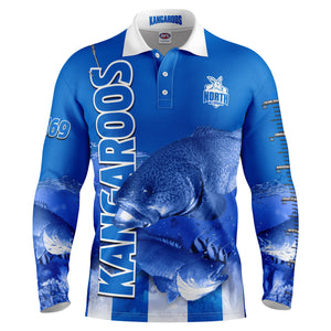 AFL North Melbourne Fishing Shirt