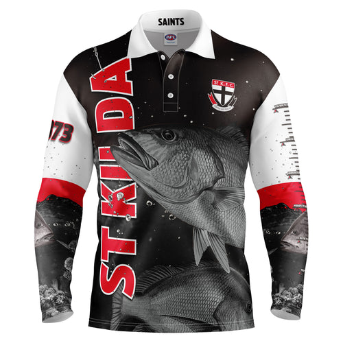 AFL St Kilda Fishing Shirt
