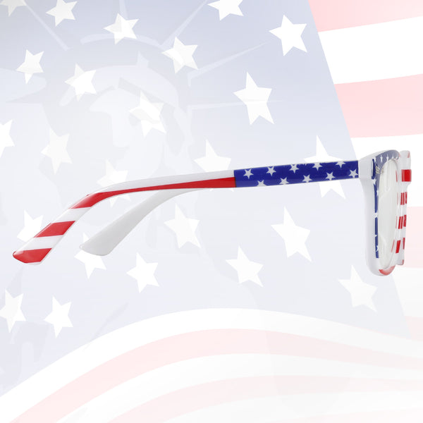 US Flag Blue Light Filter Computer Glasses 8082 Computer Glasses cyxus