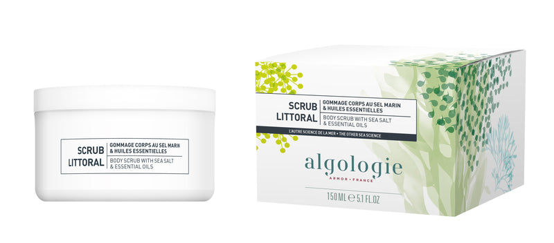 Algologie Body Scrub with Sea Salt & Essential Oils 150ml