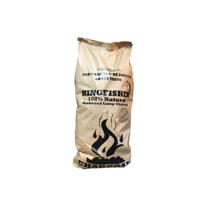 KINGFISHER COFFEE LUMP WOOD CHARCOAL 10KG | BBQs NZ | Charcoals | Outdoor Concepts NZ