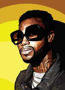 Will Prince Pop Art Gucci Mane