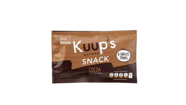 Kuup´s Barra Snack Cocoa 50gr
