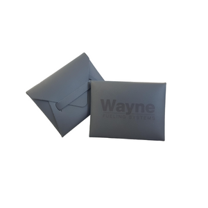 Wayne Fueling Systems Italian Leather Business Card Holder