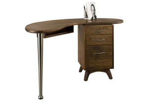 Linnaea Small Desk in Walnut, Hardwood Artisans
