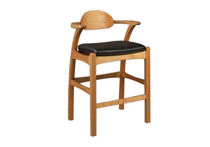 Linnaea Stool in Cherry, Hardwood Artisans