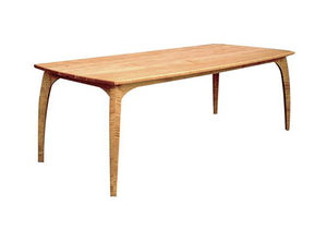 Linnaea Table in Natural Cherry, Hardwood Artisans