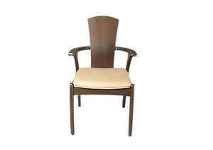 Linnaea Tall BackChair, Hardwood Artisans