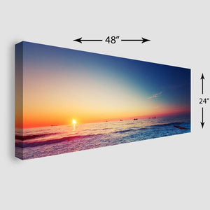 48x24 Panoramic Stretched Canvas