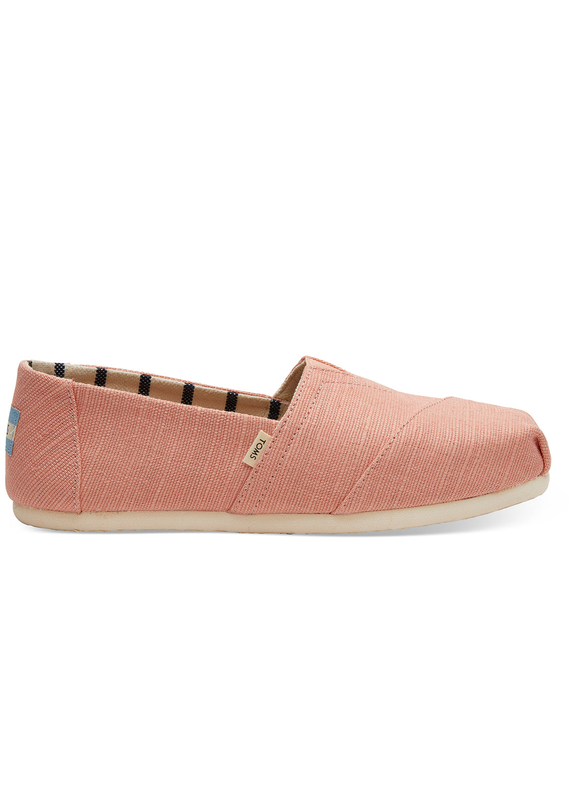 TOMS Women's Coral Heritage Canvas Shoes