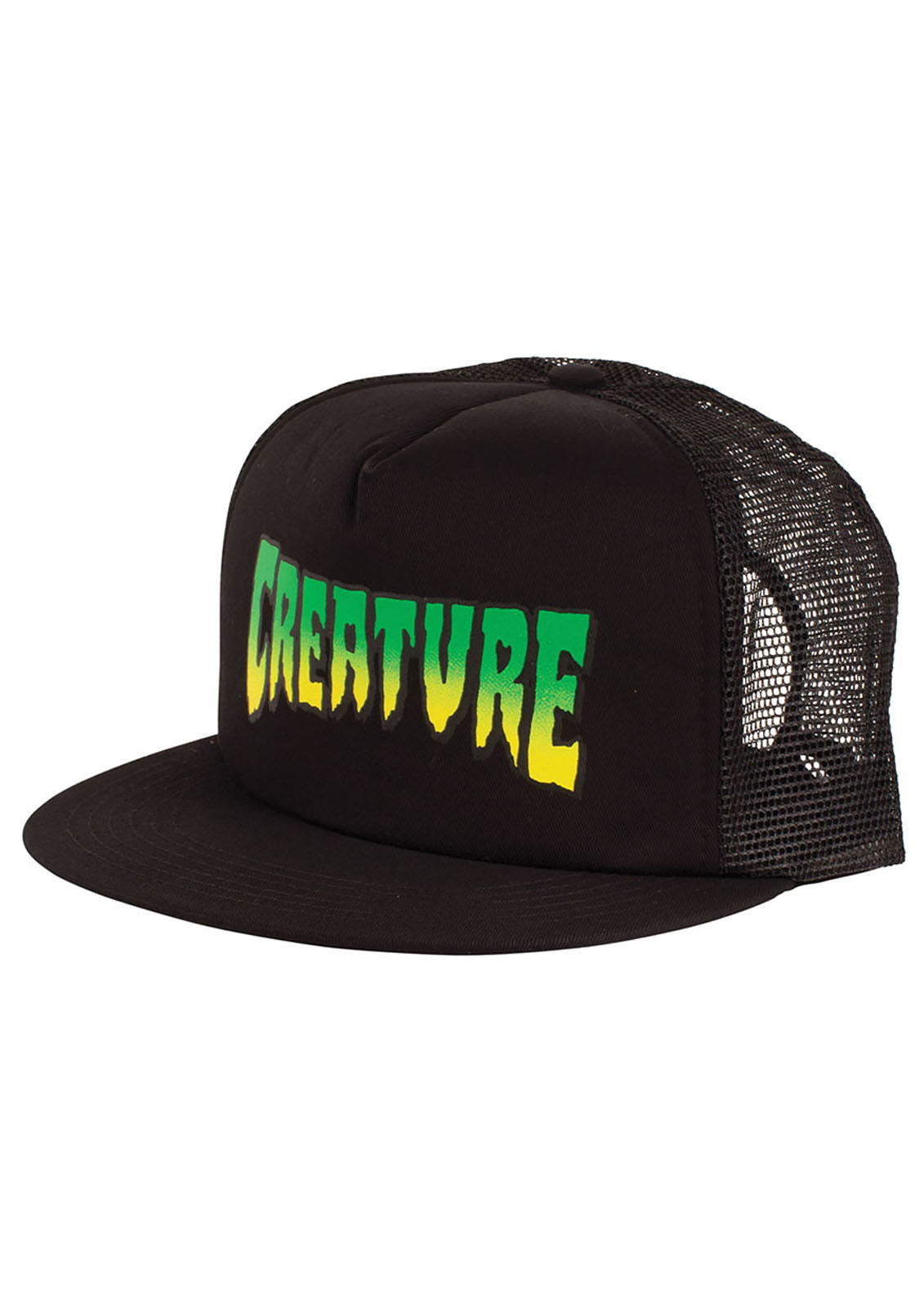 Logo Mesh High Profile Trucker Hat