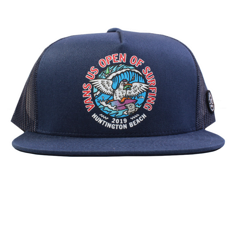 Vans US Open 2019 Salty Seagull Trucker Hat