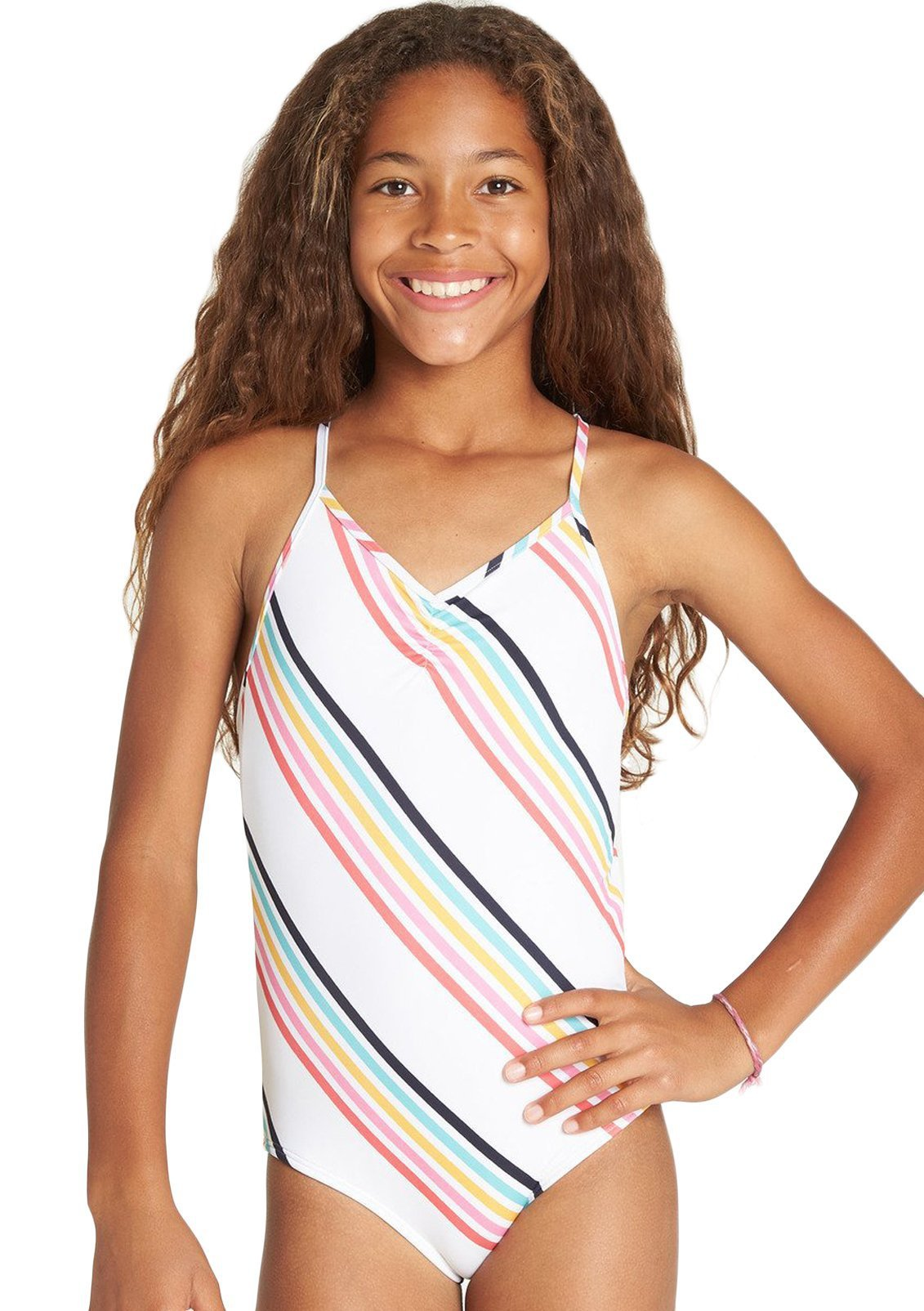 Girls Seeing Rainbows One Piece Swim